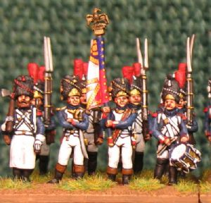15mm, Napoleonic French Guard Grenadiers a Pied AB 24 figures